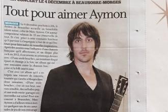 Marc Aymon Journal de Cossonay 2015