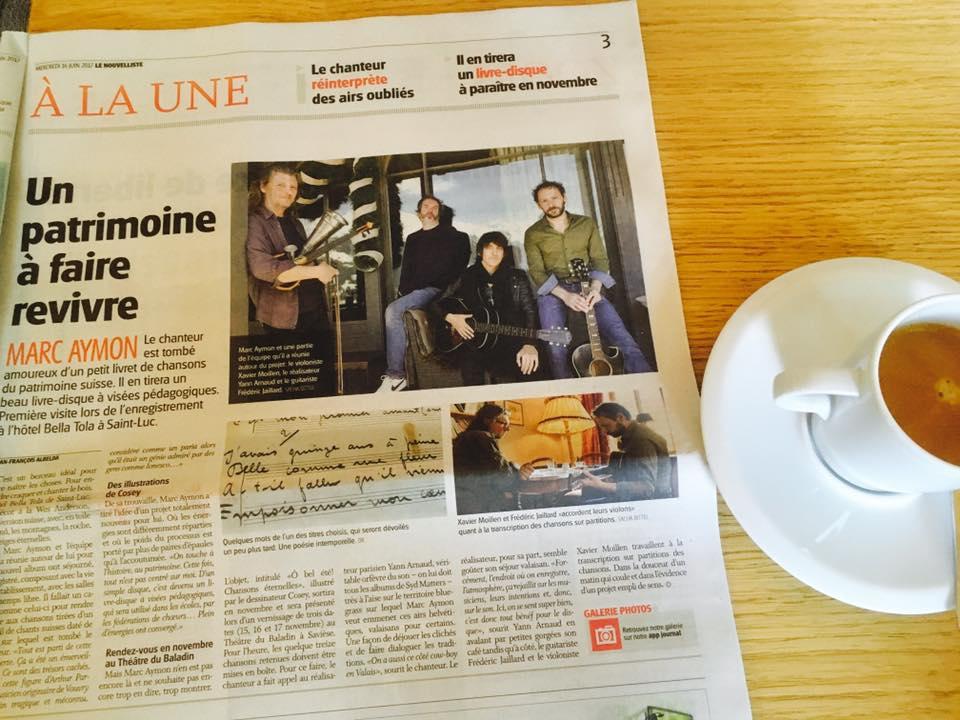 Le Nouvelliste - Marc Aymon - 14 juin 2017